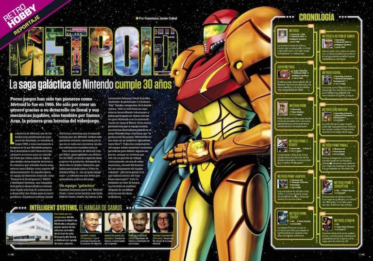 Reportaje HC 301 Metroid La saga galáctica de Nintendo cumple 30 años