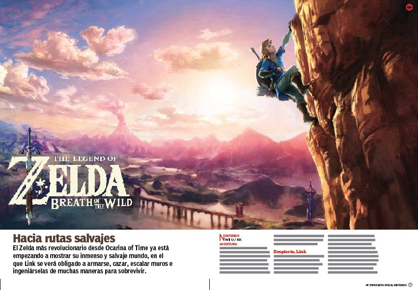 Reportaje The Legend of Zelda Breath of the Wild