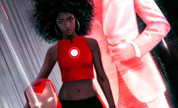 Riri la nueva Iron Man