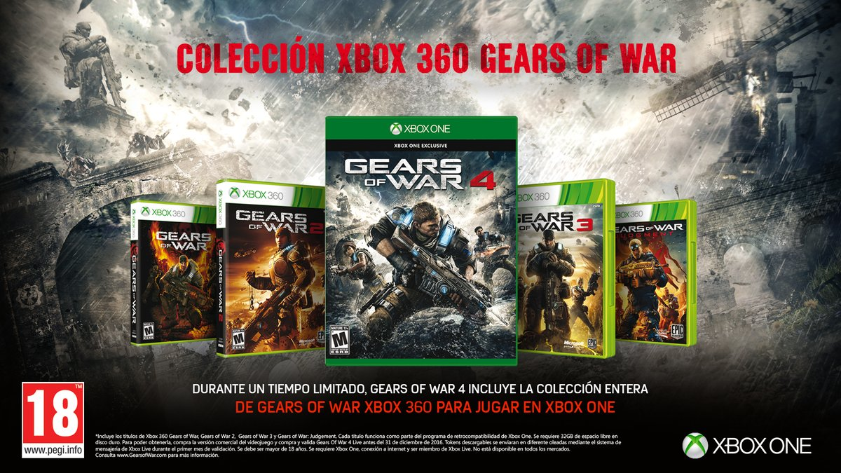 Gears of War 4 oferta