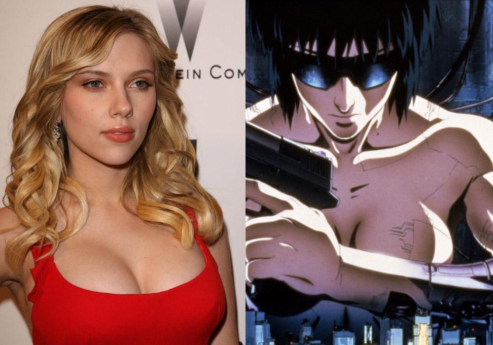 Scarlett Johansson Kusanagi