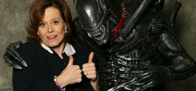 Weaver con Alien - Alien 5