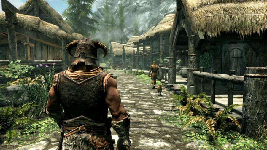 Skyrim Remaster en PS4 y Xbox One