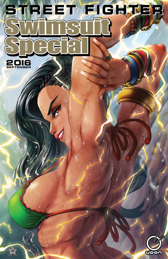 luchadoras street fighter bikini