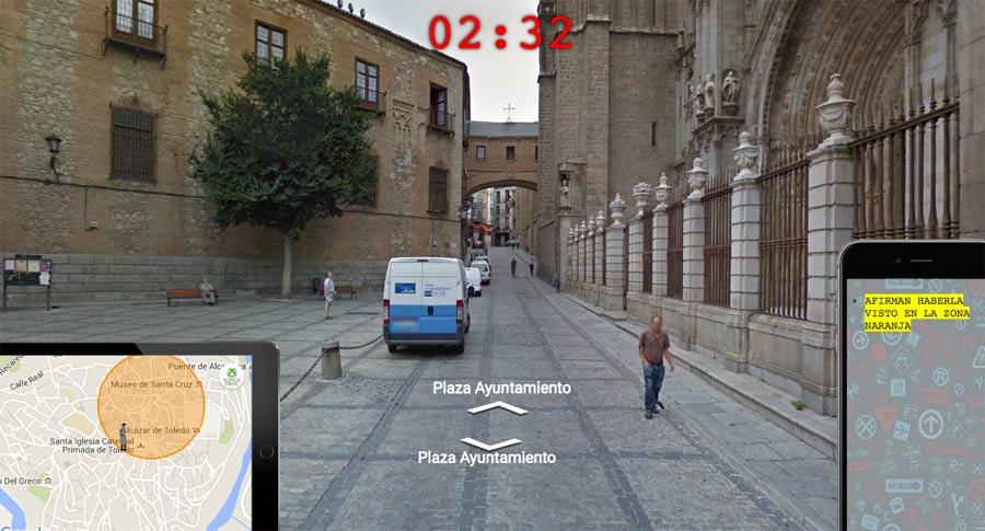 Taken, captura del juego de Street View