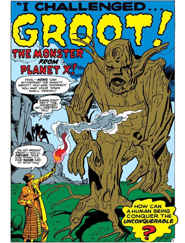 Tales To Astonish - Primera aparición de Groot
