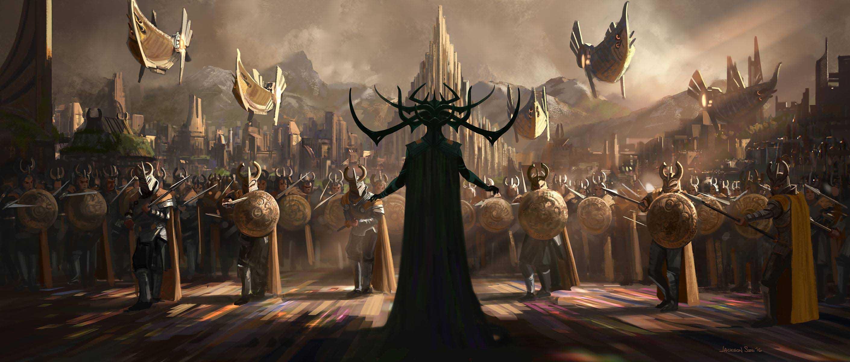 Concept Art Thor Ragnarok