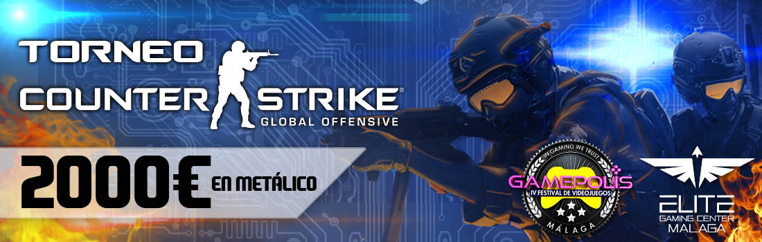 Torneo CS:GO - Gamepolis 2016