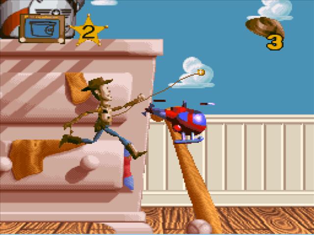 Toy Story de Mega Drive