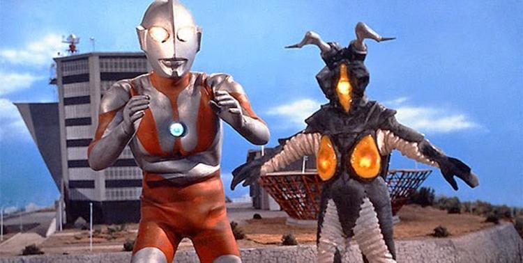 Series de superhéroes Ultraman
