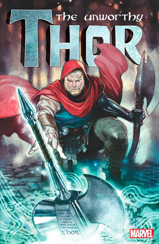 The Unworthy Thor portada