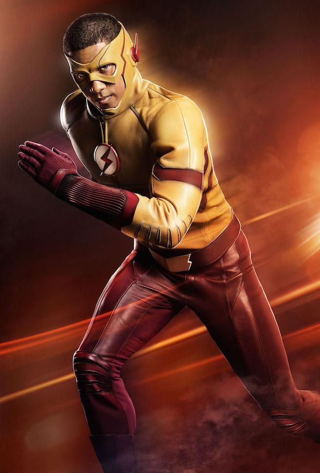 Wally West como kid flash