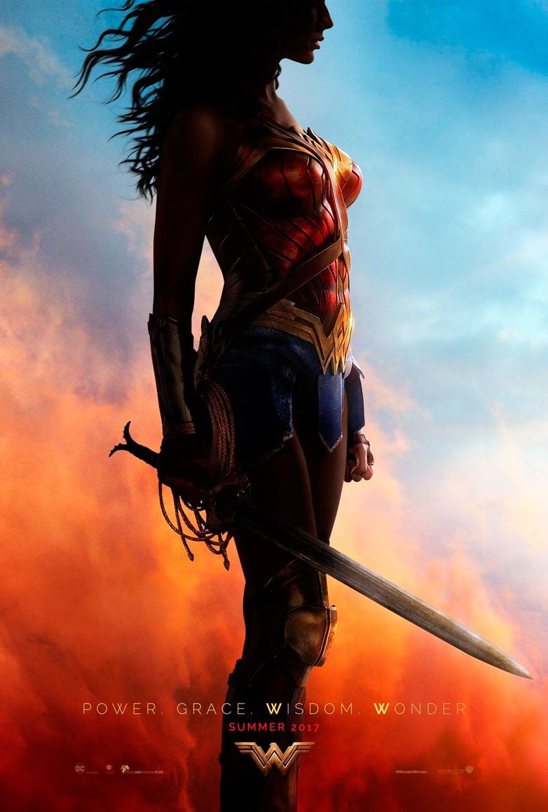 Wonder Woman cartel Comic-Con 2016