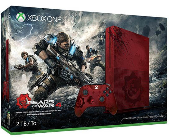 Xbox One S Gears of War 4 Edition