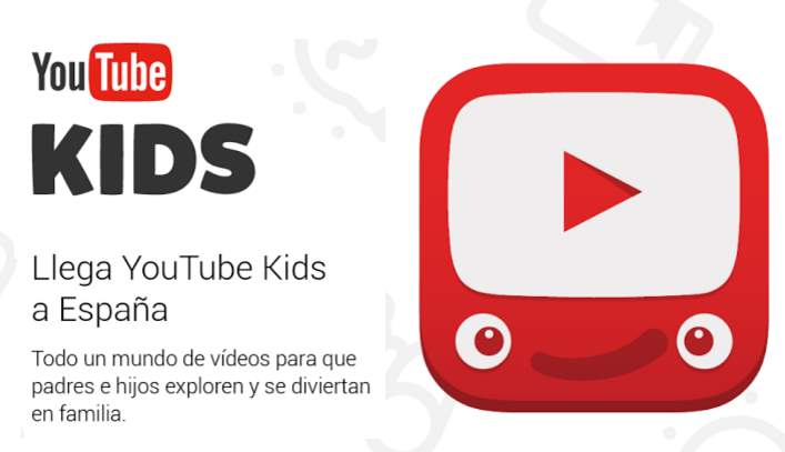 YouTube Kids aterriza en España