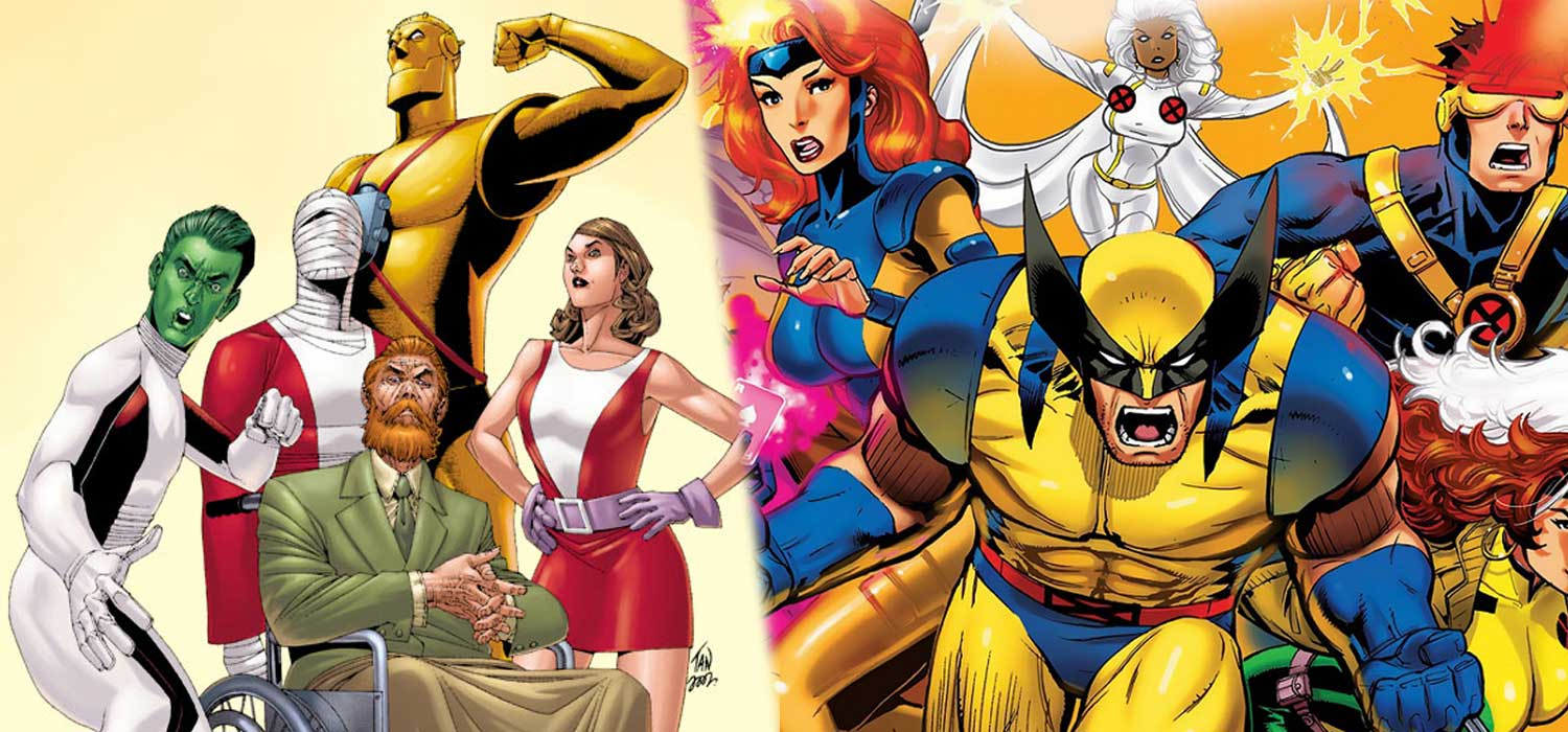 11 Superhéroes similares de DC y Marvel