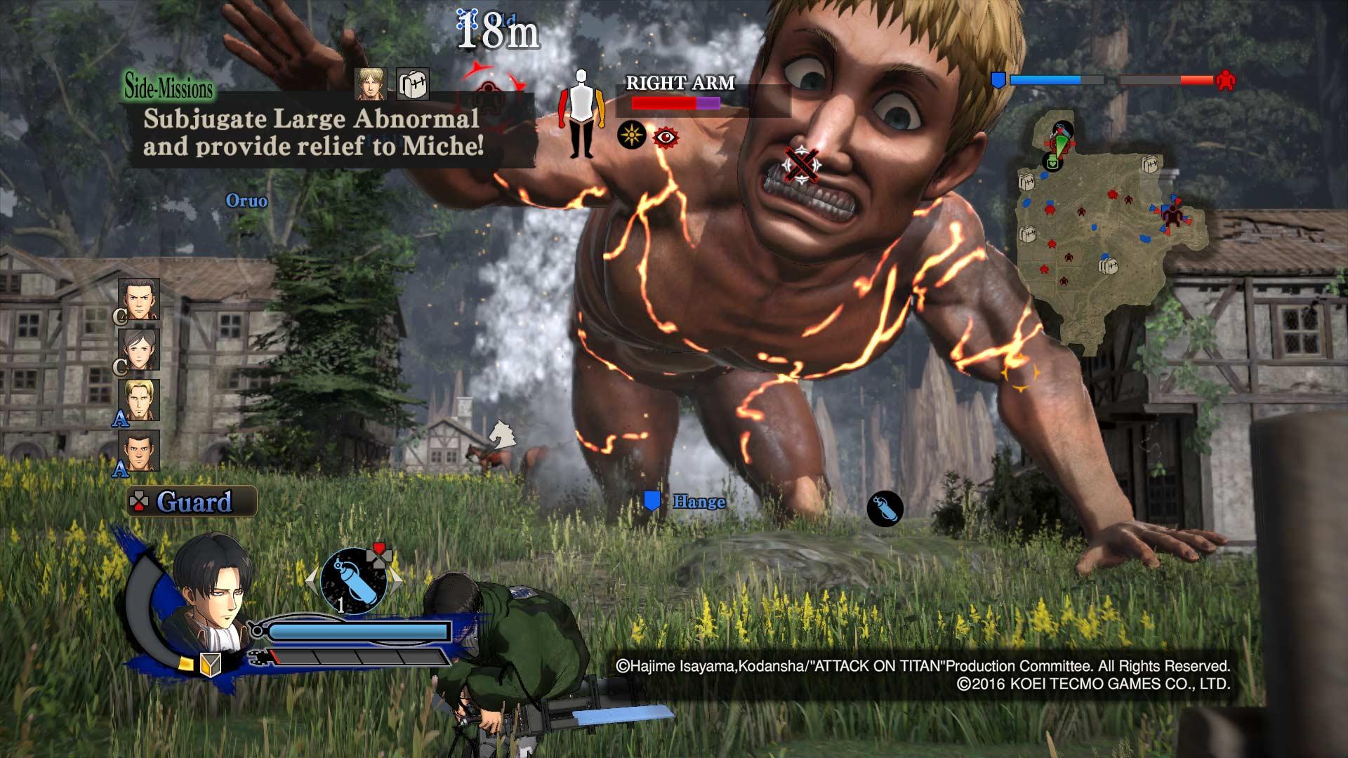 Análisis Ataque a los Titanes Wings of Freedom 3