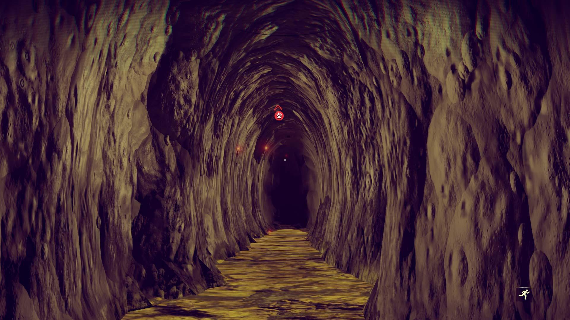 Análisis No Man's Sky tunel
