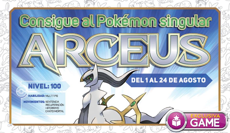 Arceus Pokémon