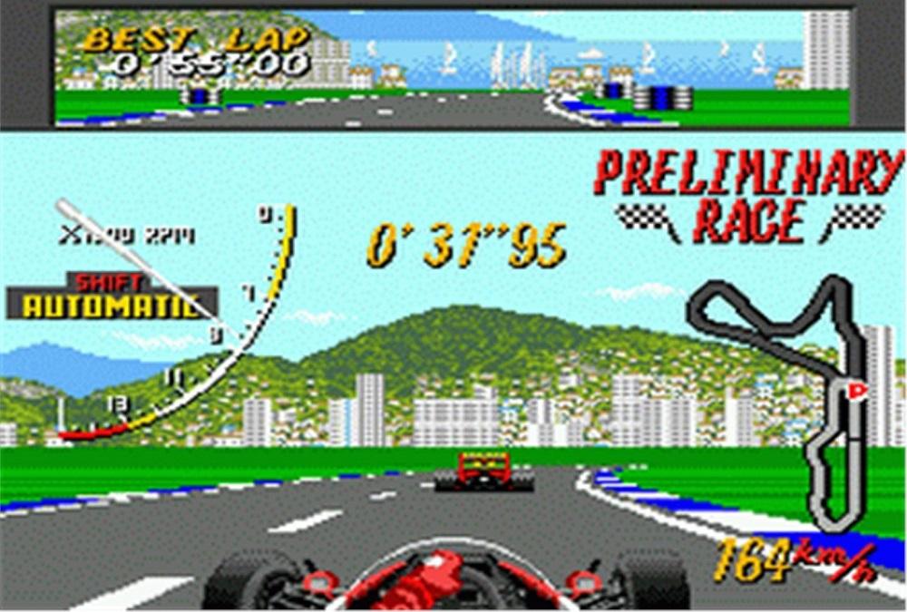Ayrton Senna's Super Monaco Grand Prix II