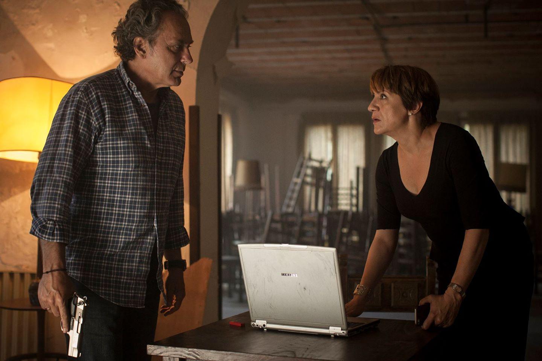 Blanca Portillo y José Coronado en Secuestro