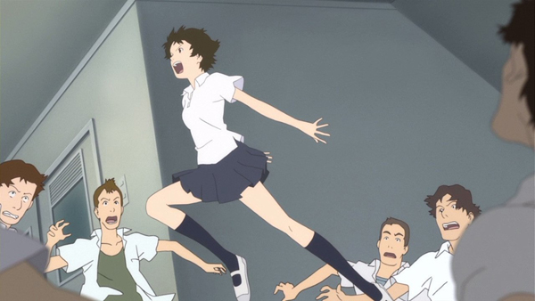 La Chica que Saltaba a través del Tiempo película