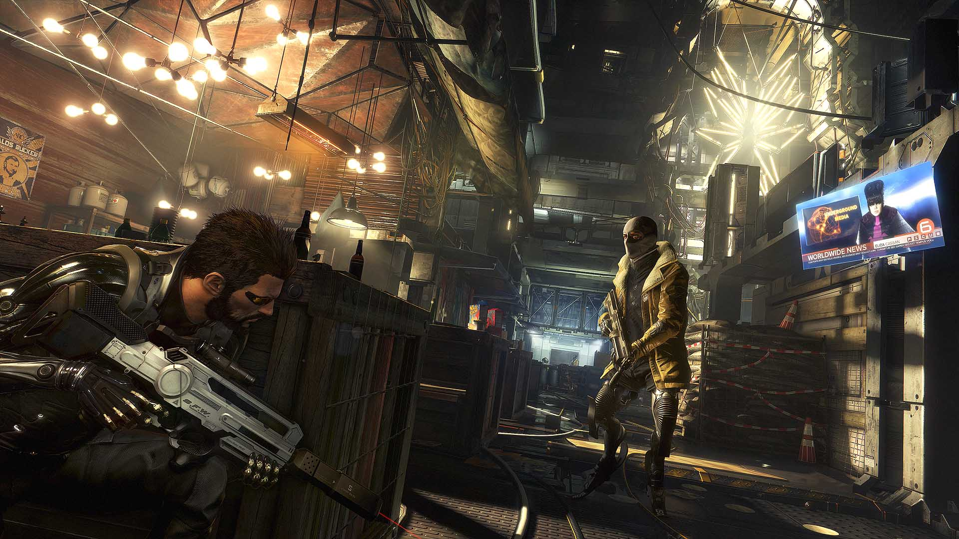 Deus Ex: Mankind Divided Goilem City