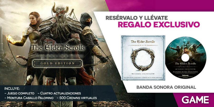 The Elder Scrolls Online Gold Edition GAME