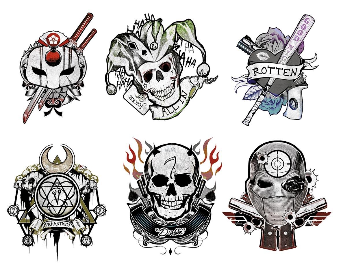 Escuadrón Suicida tatuajes
