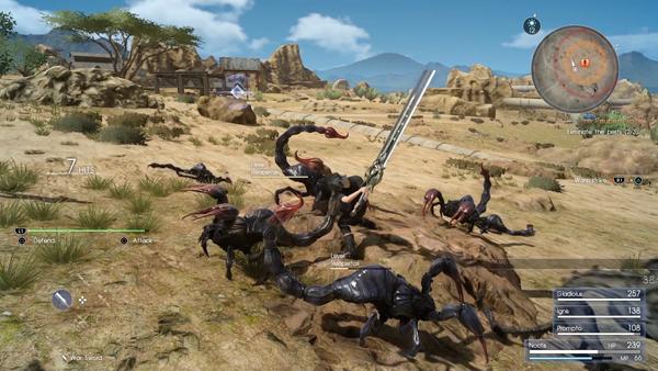 Final Fantasy XV avance