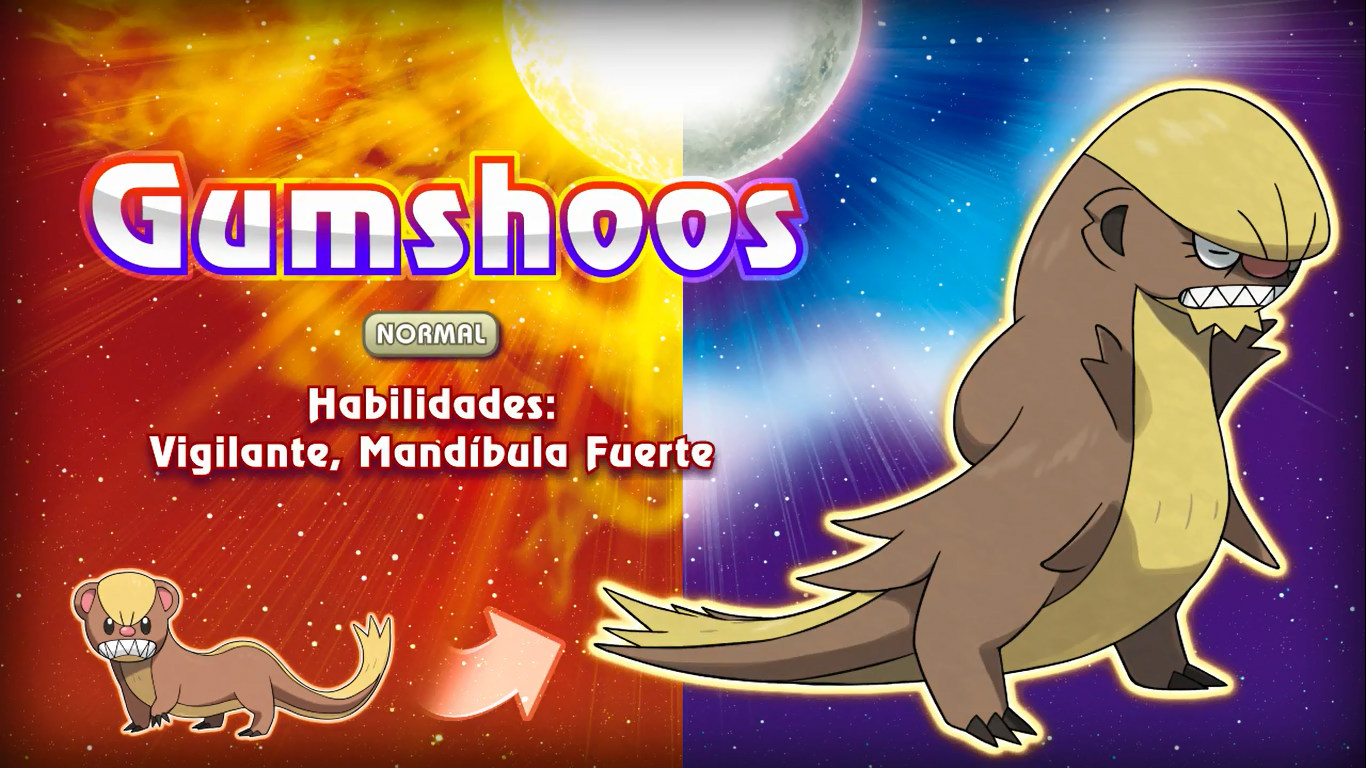 Gumshoos en Pokémon Sol y Luna