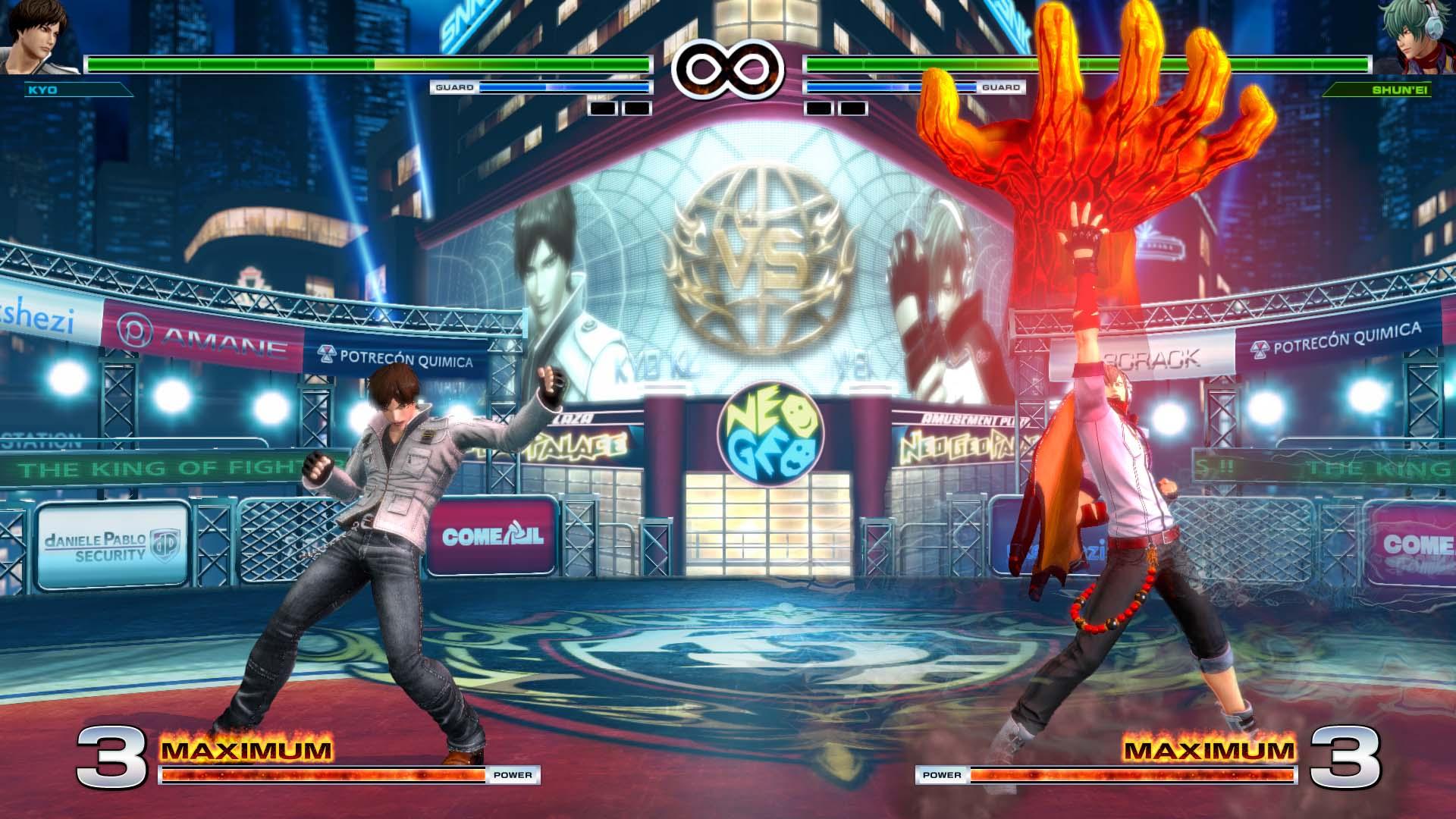 KOFXIV - Kyo vs Shun'ei
