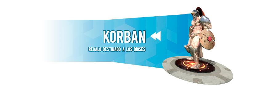 Korban, PlayStarter de Way of Redemption
