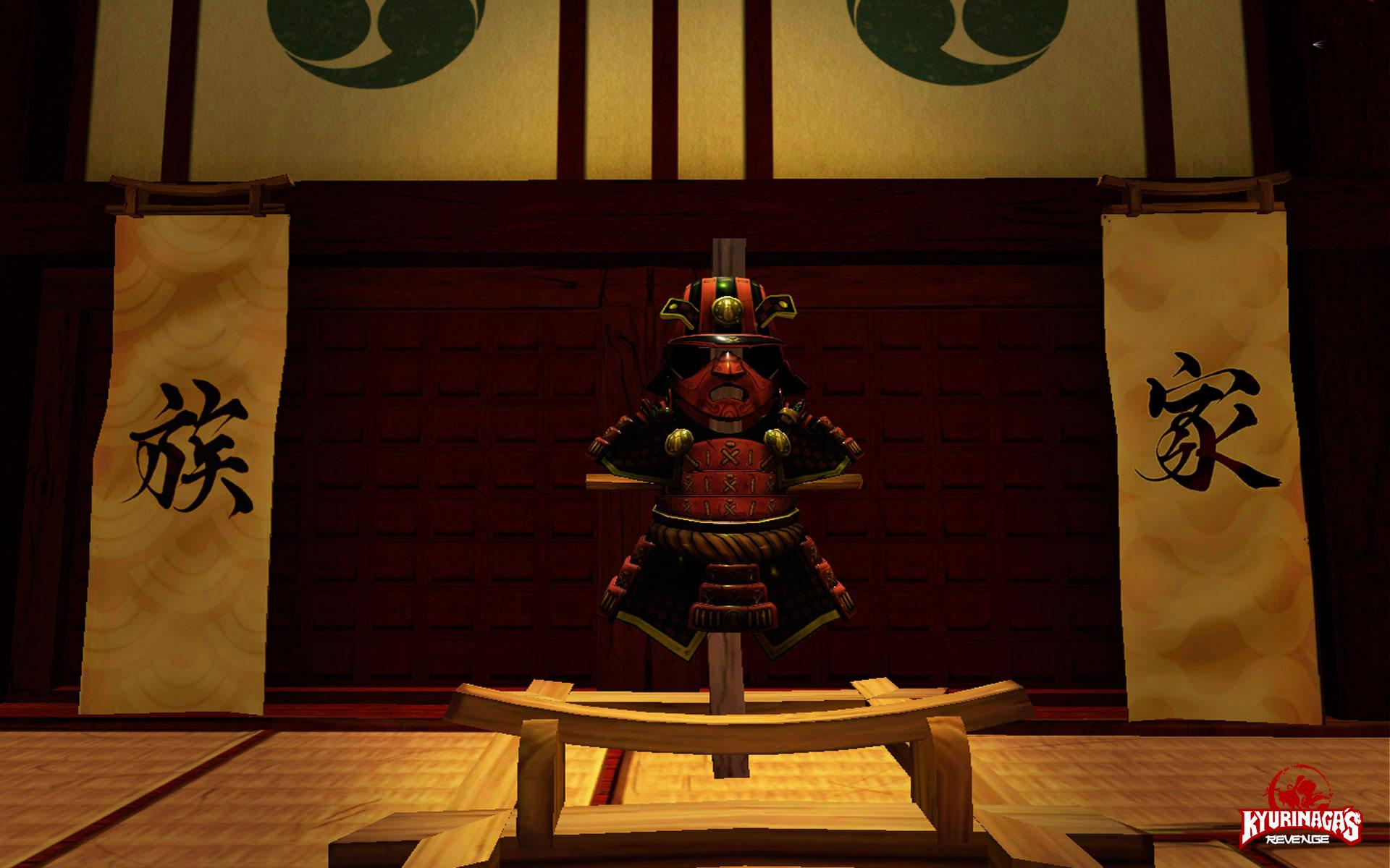 Kyurinaga's Revenge armadura