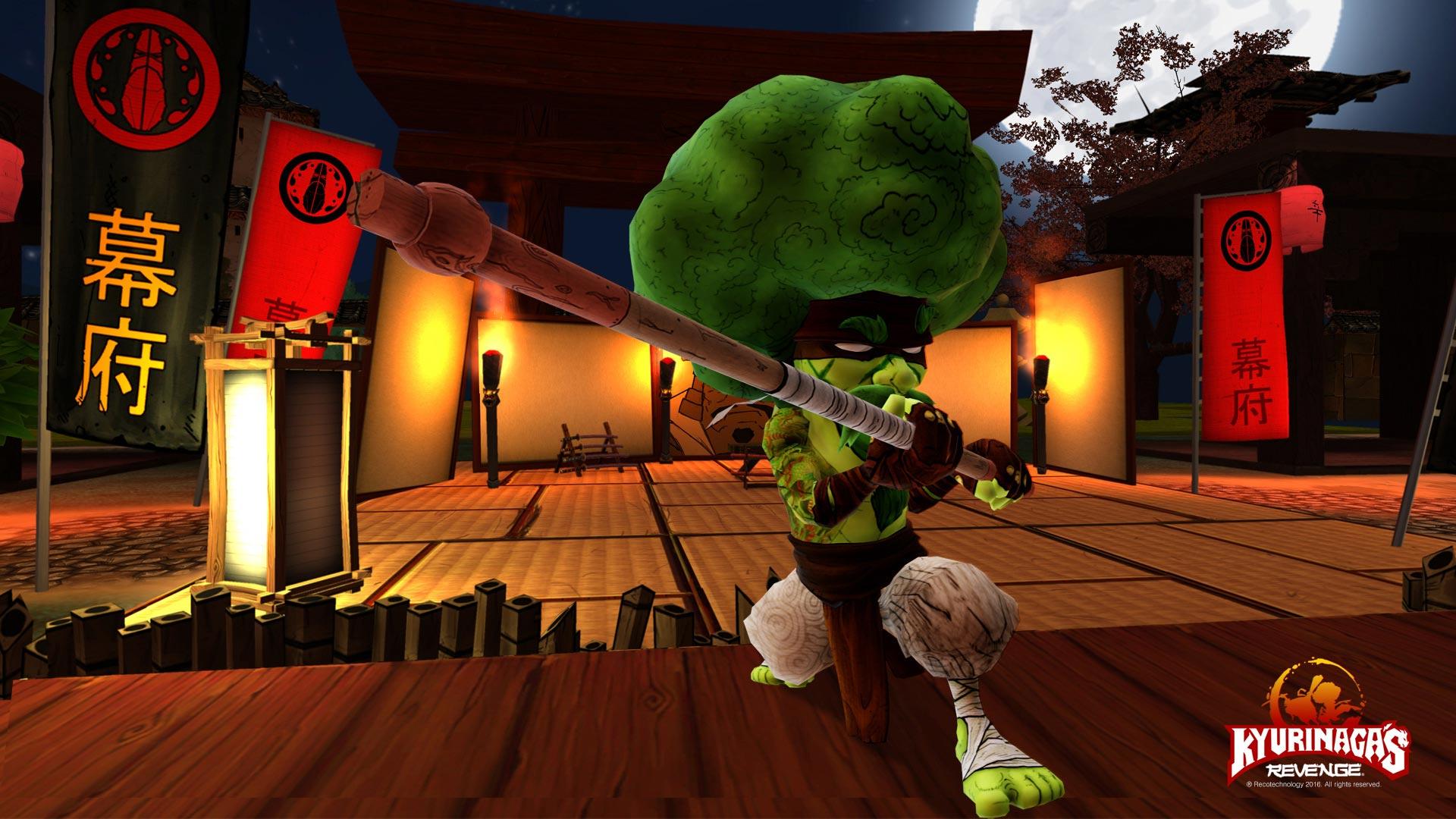 Kyurinaga's Revenge Joe Broccoli