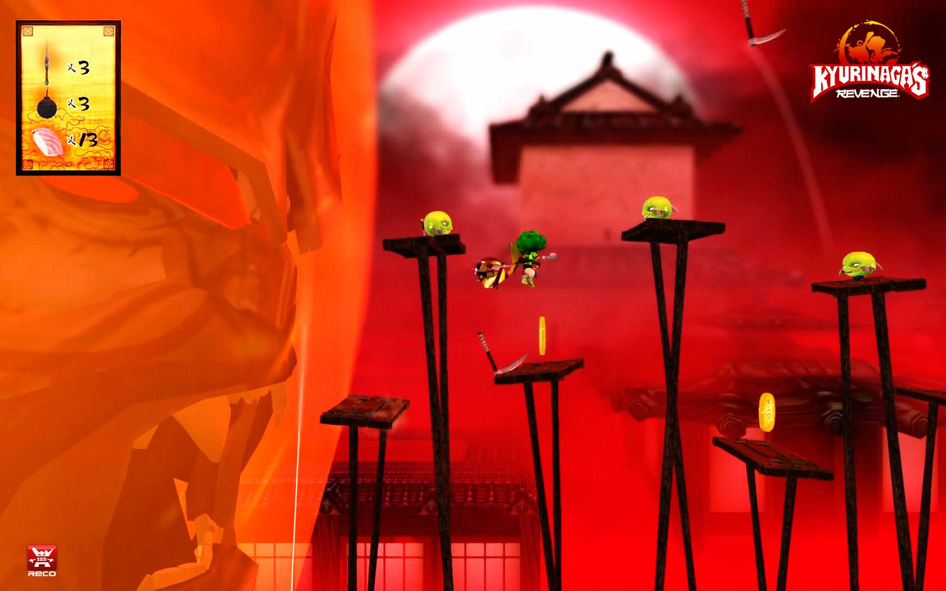 Kyurinaga's Revenge screens 3