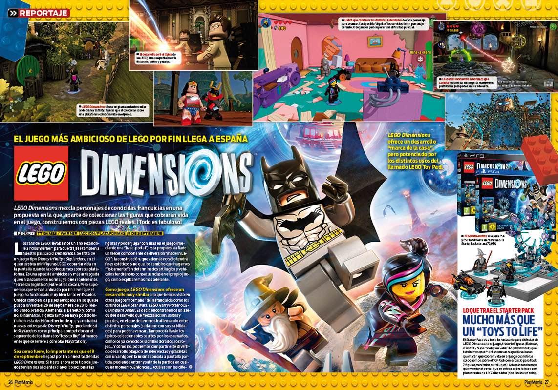LEGO DImensions en Playmania 214
