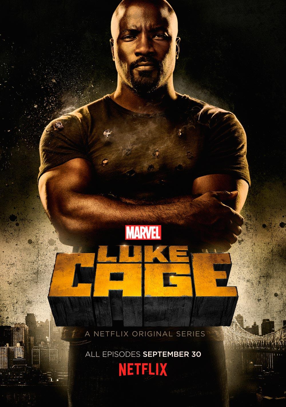 Luke Cage serie Netflix - póster