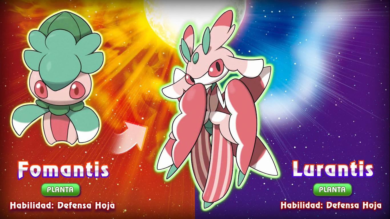 Lurantis en Pokémon Sol y Luna
