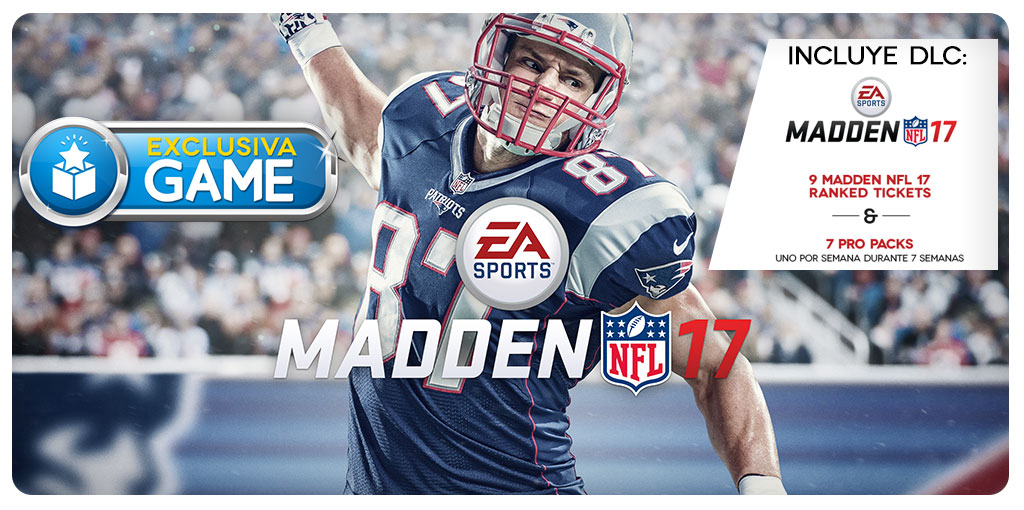 MADDEN NFL 17 GAME