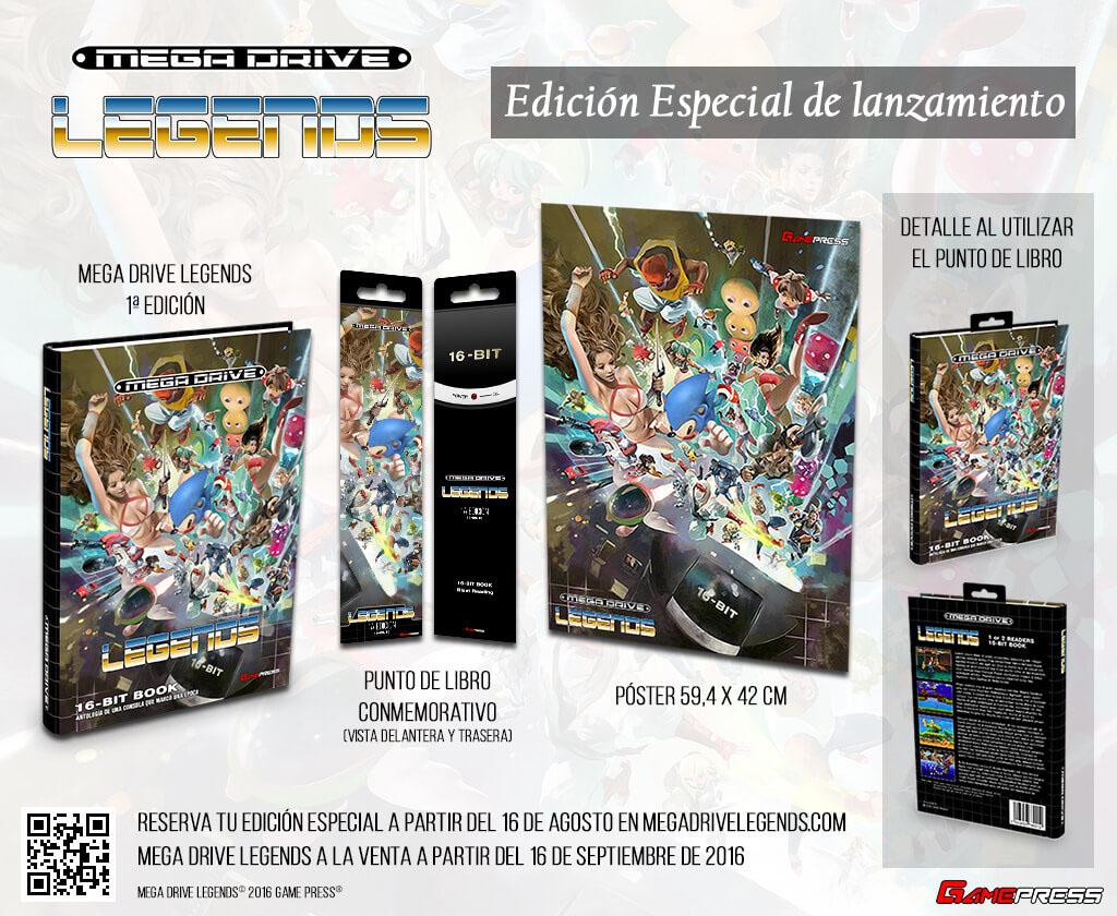 Mega Drive Legends MD Retro Game Press
