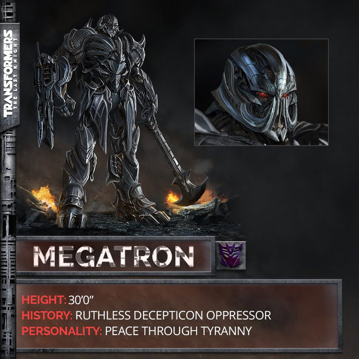 MEGATRON - TRANSFORMERS: THE LAST KNIGHT