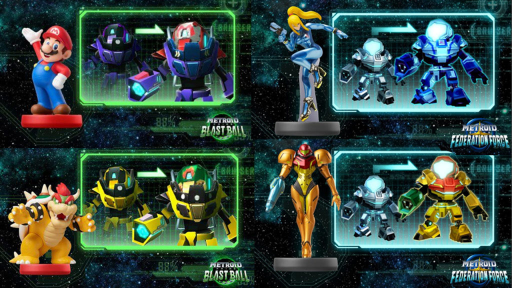 Metroid Prime Federation Force amiibo