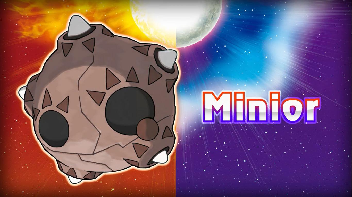 Minior en Pokémon Sol y Luna