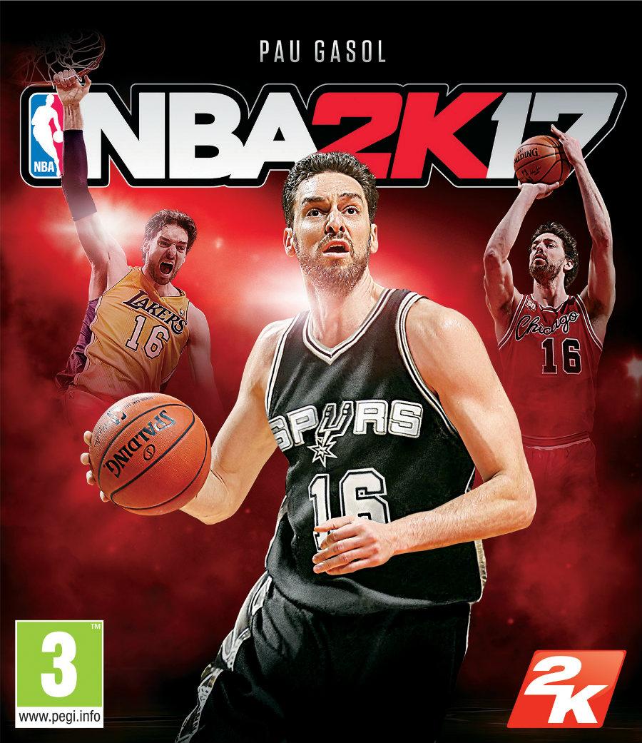 Pau Gasol NBA 2K17