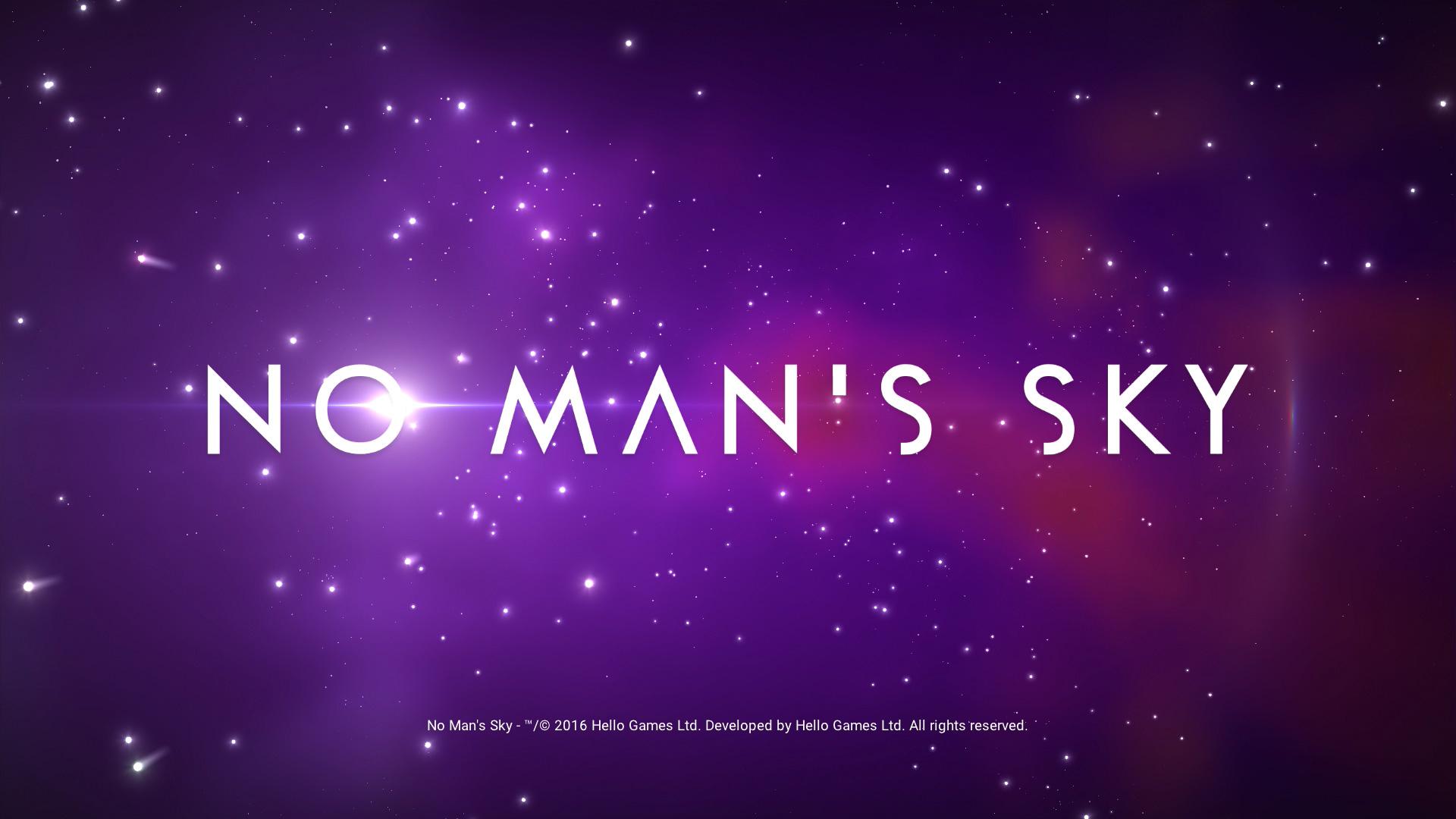 No Man's Sky - Cabecera