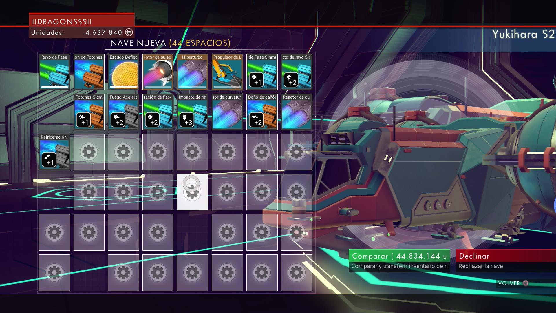 No Man's Sky - Comprando naves