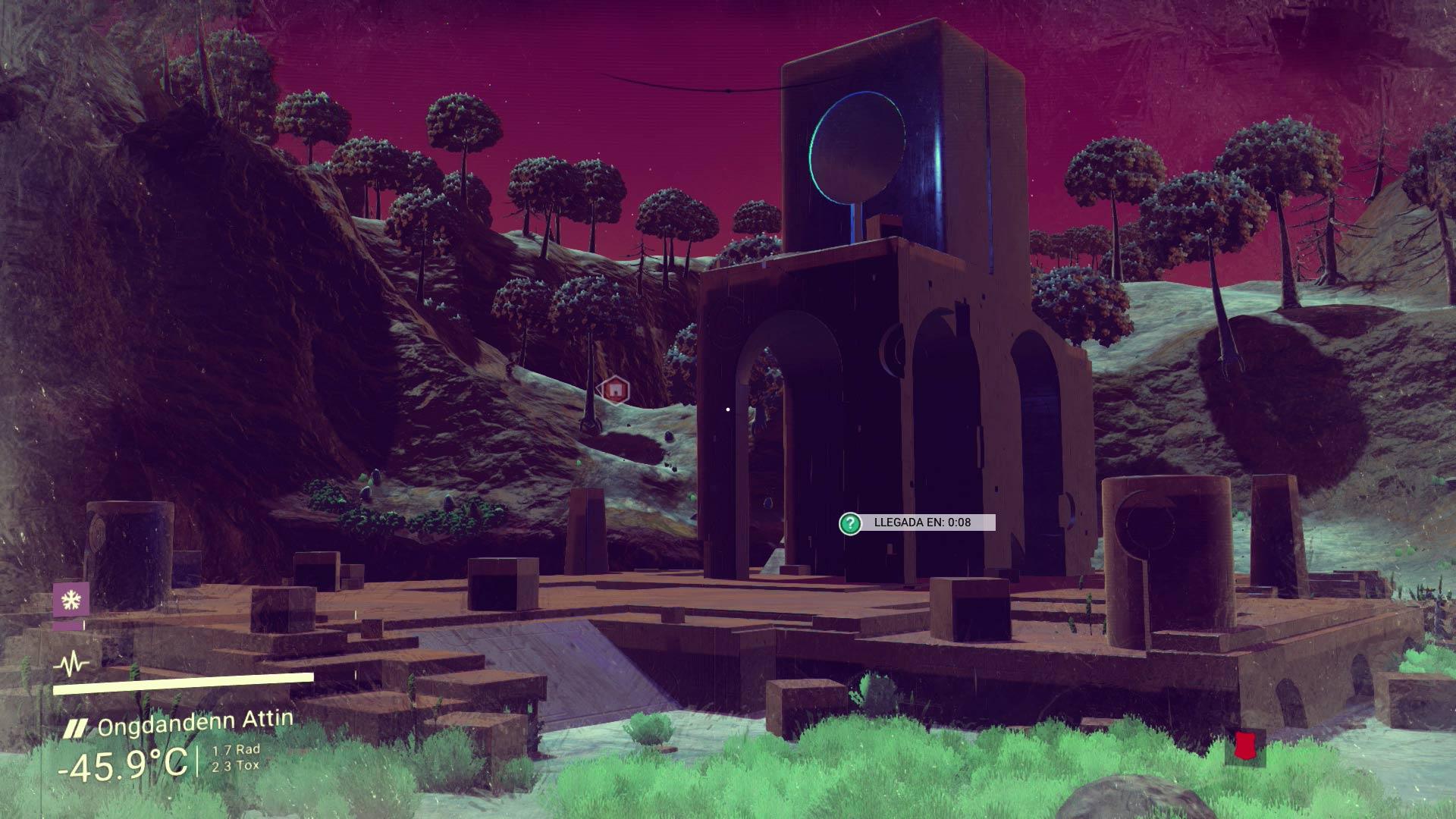 No Man's Sky - Estructura alienígena