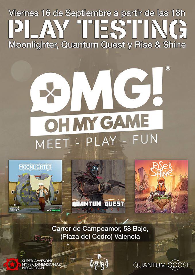 Oh My Game para jugar a tres videojuegos españoles muy esperados
