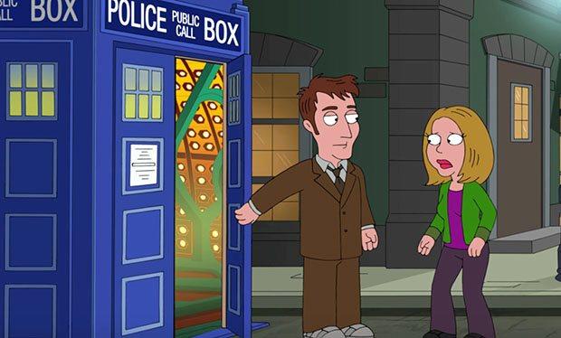 David Tennant, Doctor Who, Cameo